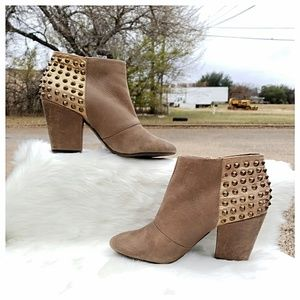 Jessica Simpson Suede Studded Booties